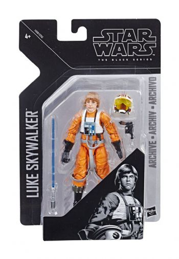 Star Wars The Black Series Archive Line 2019 Wave 1 Luke X-Wing Pilot Action Figure